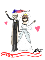 Just Married me and russia lol by TheAwesomeNordics