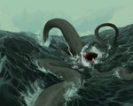 Tentacle Frenzy by IMtth