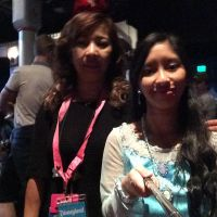 Me and Mom at Frozen Sing Along Celebration Show 1 by Magic-Kristina-KW