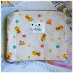 Bees and Flowers Zip Pouch by Keito-San