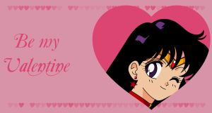 Be my Valentine - Sailor Mars by Mikey186