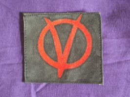 V for Vendetta patch by Scarygothgirl