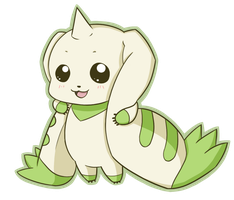 Terriermon by ChibiTigre