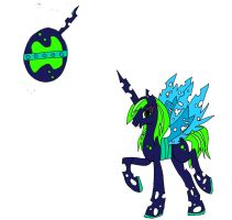 MLP egg hatched 3 -- adopted by Catzilerella