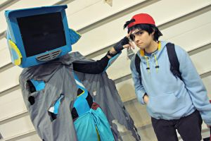 A Boy and A Robot by DascocoCosplay