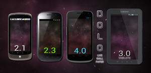 DOLO Galaxy Live Wallpaper for Android by retareq