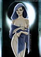 The High Priestess, revamped. by Mistoffalees