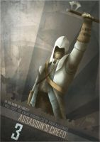 Assassin's Creed 3 poster by Barbeanicolas