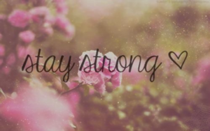 wall stay strong by Analaurasam