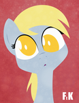 Derpy Portraiture by FluttershytheKind
