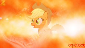 Wallpaper Applejack by InfernuZ
