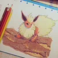 Volcanic Flareon by atta9