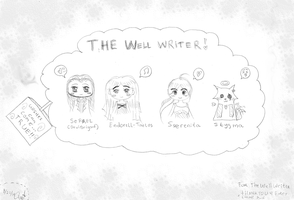 The well Writer. by himekanoda