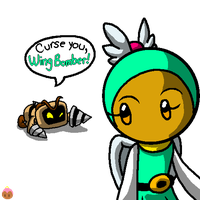 Curse You, Wing Bomber! by G-Bomber