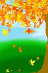 FREE-Autumn Background by YuniNaoki