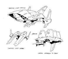 Starships sketches by NachoMon