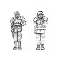 Two Guardsmen by Shade-os