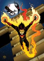Flamebird by Theamat