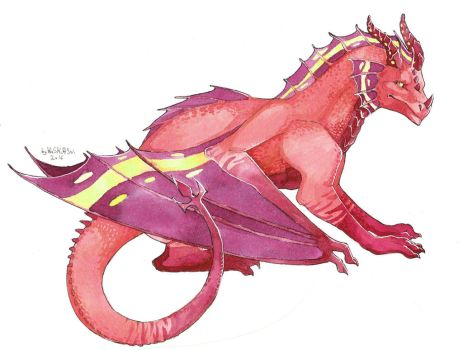 Red Dragon by HaSKA-LoWo