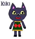 Kiki the Cat from Animal Crossing by MikeEddyAdmirer89