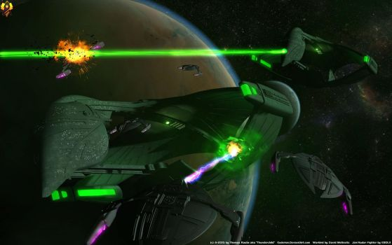 Romulans vs Dominion by Euderion