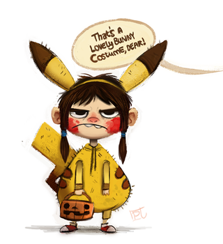 Day 711. #MyBestHalloween by Cryptid-Creations
