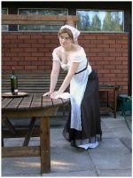 Barmaid VIII by Eirian-stock