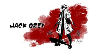 Jack Grey Wallpaper by ScandinavianLullaby