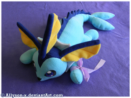 Vaporeon Plush v3.0 by Allyson-x