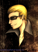 RE: Wesker by emerald-moonlight