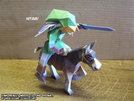 What happened to Epona?? by ninjatoespapercraft