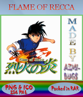 Flame Of Recca - Anime icon by azmi-bugs