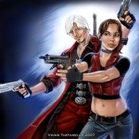 Dante and Claire by VinRoc