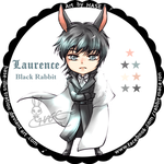 Chibi Laurence Rabbit by hase-illustration