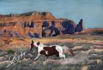 Painted Desert - Pastel by Devynn