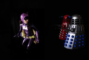 66 Batgirl Cosplay - DALEKS: DESTROY THE BATGIRL! by ozbattlechick