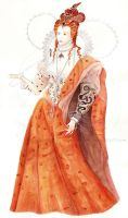 Elizabeth I- The Queen by Sydia