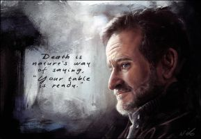 Robin Williams 1951-2014 by nixuboy