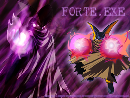 Forte.EXE Wallpaper by Legendary-Darkness