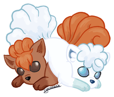 Fire and Ice by Sandy--Apples