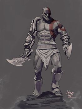 Kratos by androsm