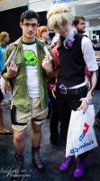 Cecil and Jake by Indefinitefotography