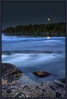 Moonrise Tidalfalls by BobVPR
