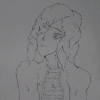 Emerald (Uncolored) by JinTheDreamer