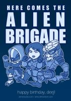 ME2 - Alien Brigade by aimo