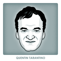 Quentin Tarantino by monsteroftheid