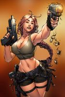 Tomb Raider strikes by deffectx