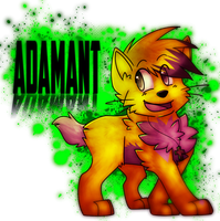 :CO: xXAdamantDahKittehXx by giinga