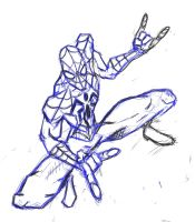 spiderman sketch by danny2069