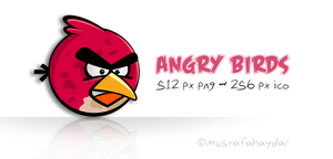 angry birds - dock icon by mustafahaydar